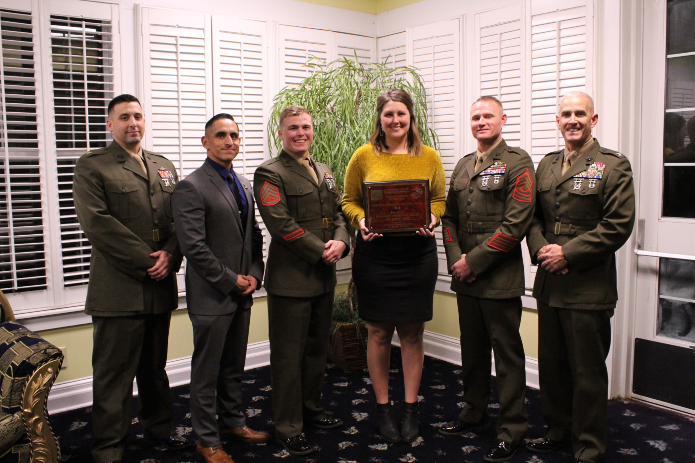 Service Member of the Year - SSgt Daniel Macias, USMC